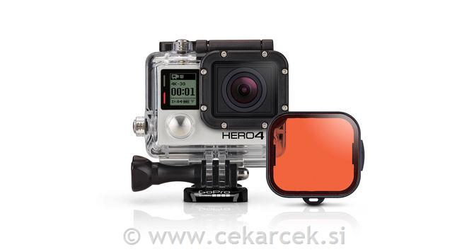 GoPro rdeč filter za HERO3