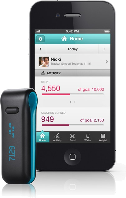 Fitbit Ultra Tracker - iPhone app