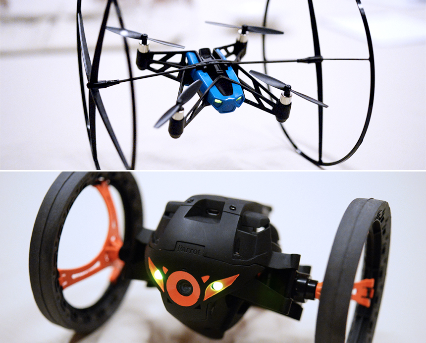Parrot MiniDrone in Jumping Sumo